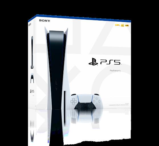 Embalagem PlayStation 5